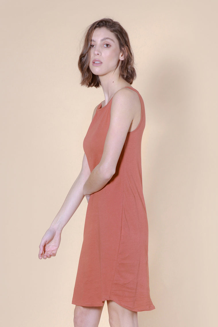 blackrocks dress rust