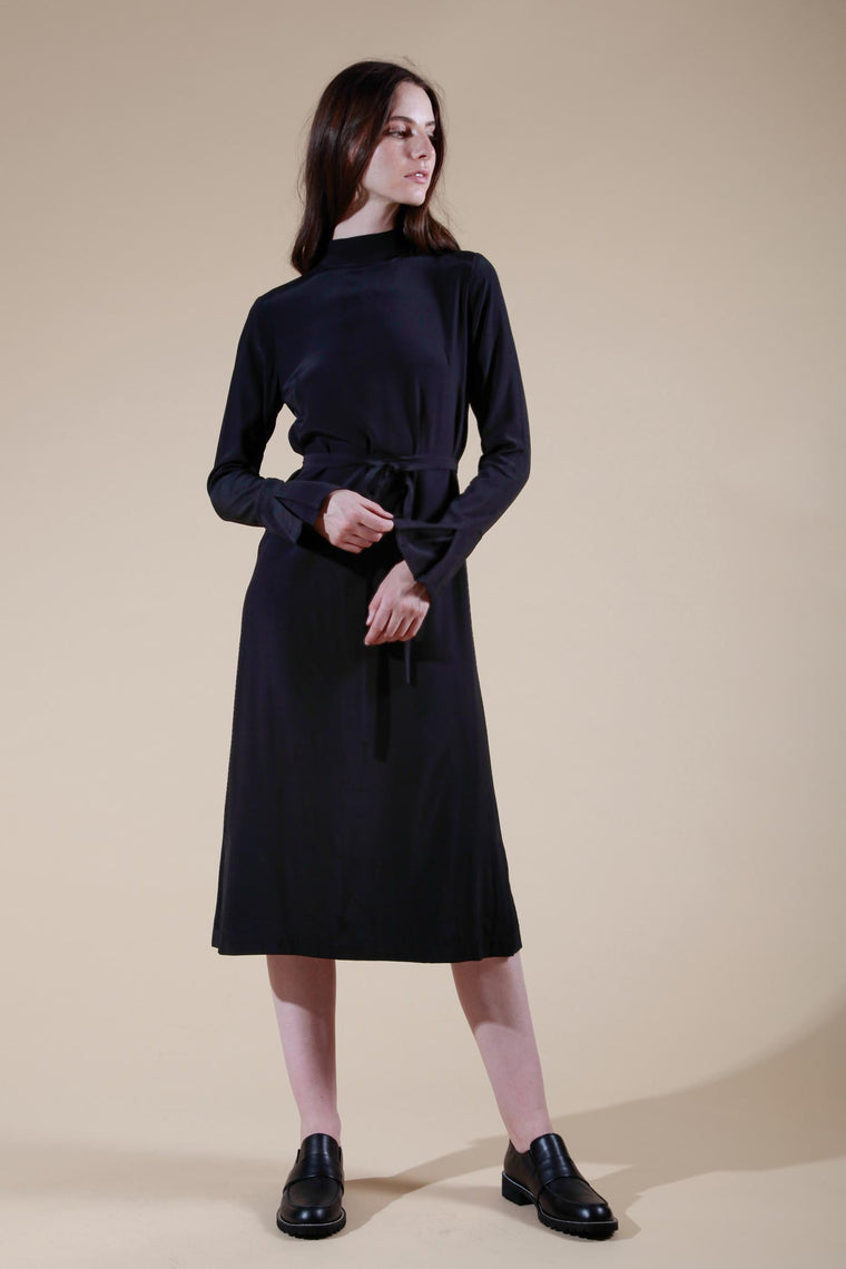 bleuet dress black