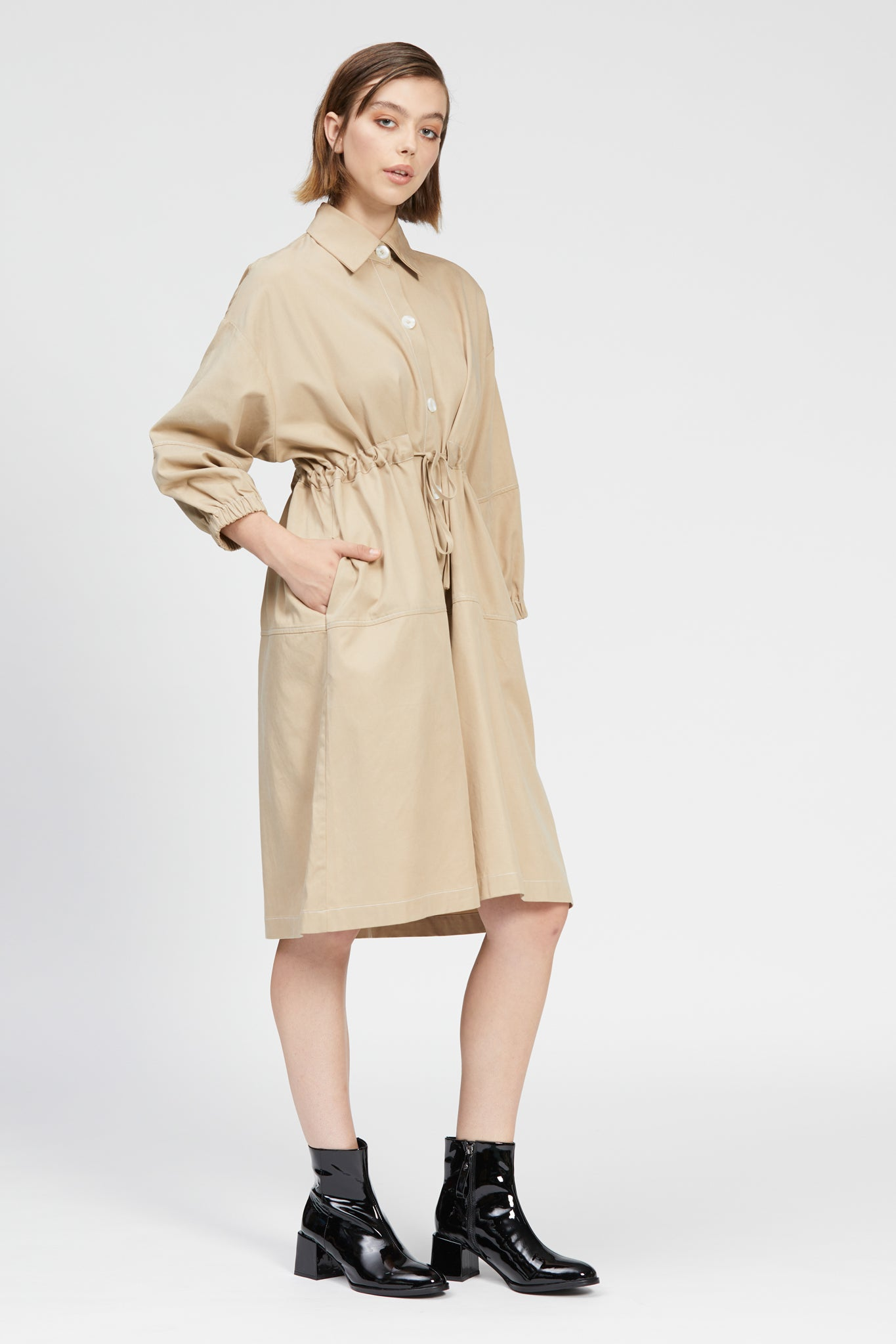 cadore dress beige