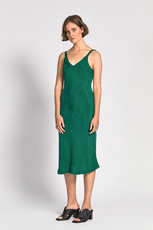 cai dress green