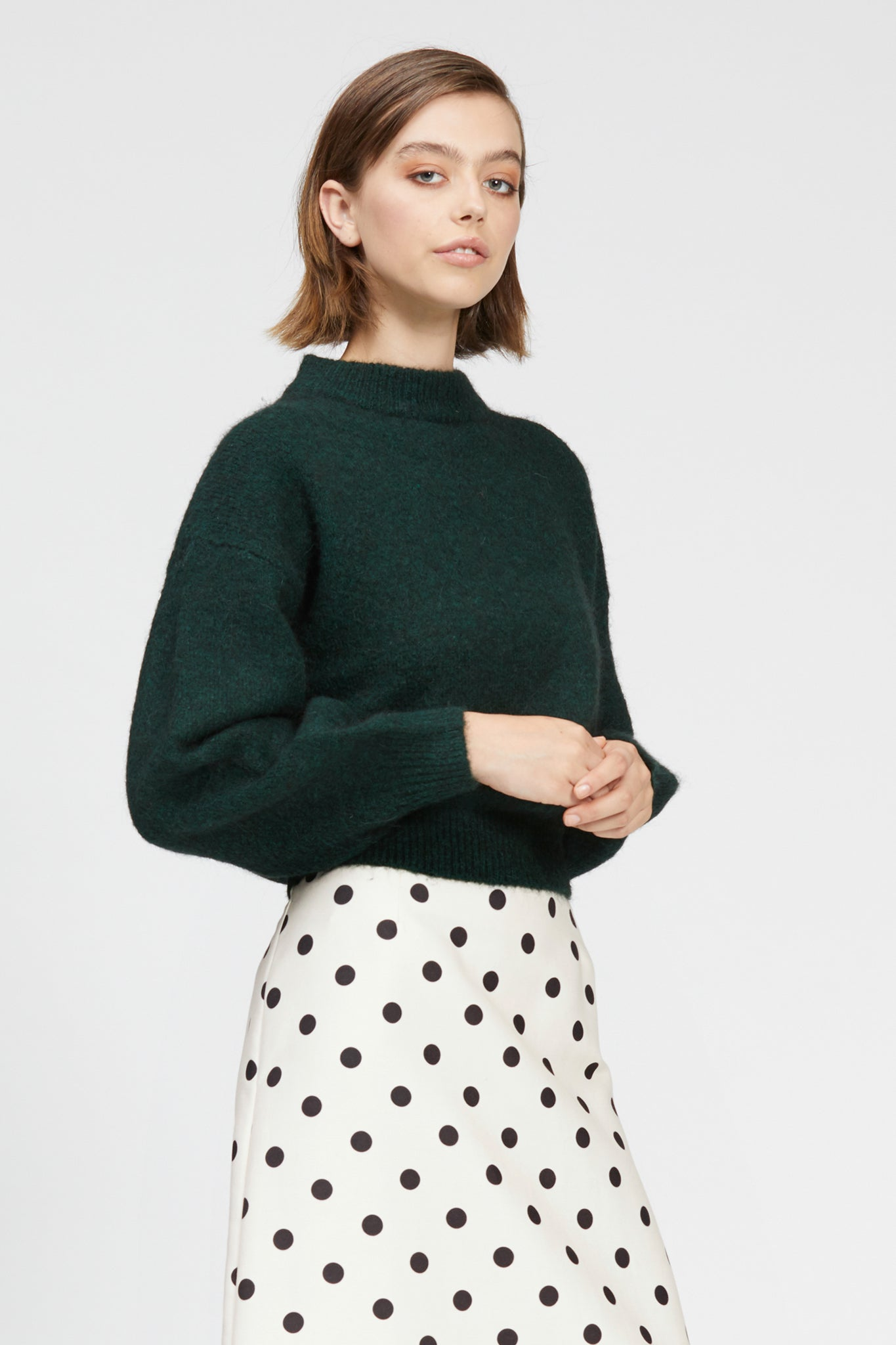 caldo jumper dark green