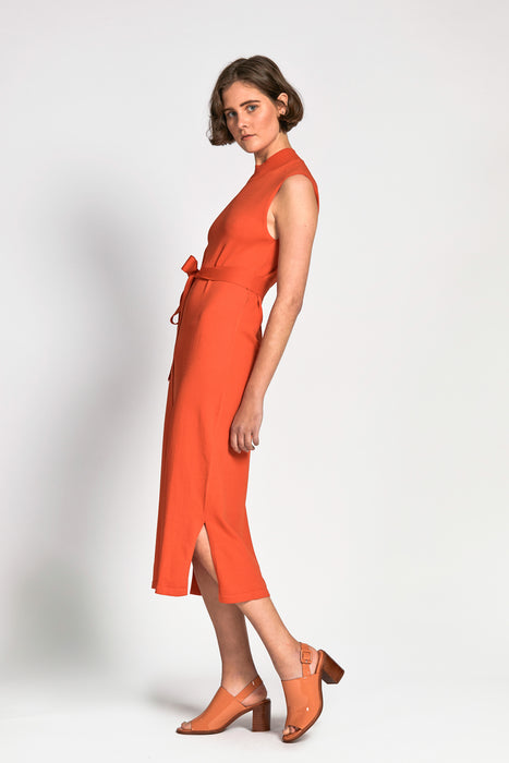 cam dress orange