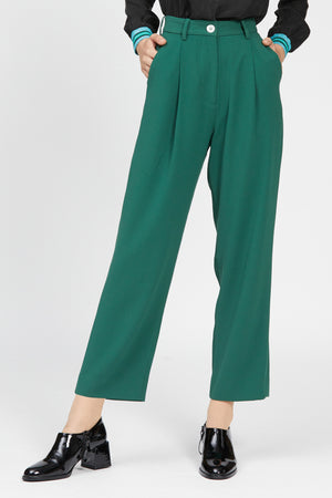 capriolo pant dark green