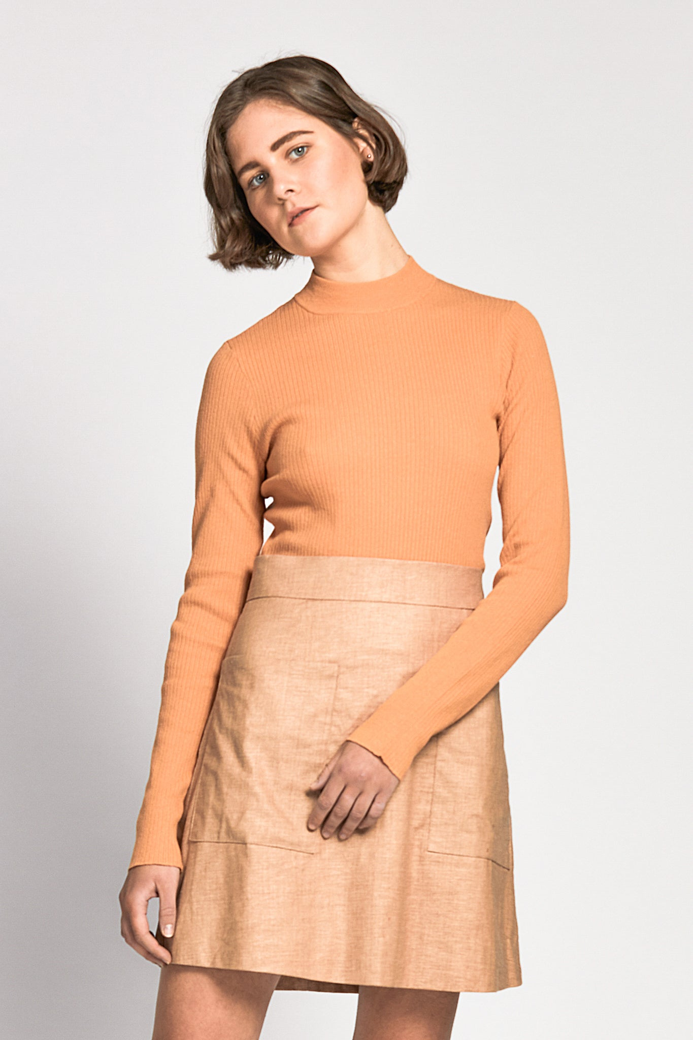 chay top orange