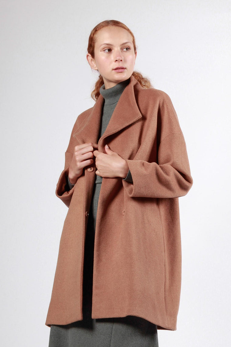 constitution coat camel