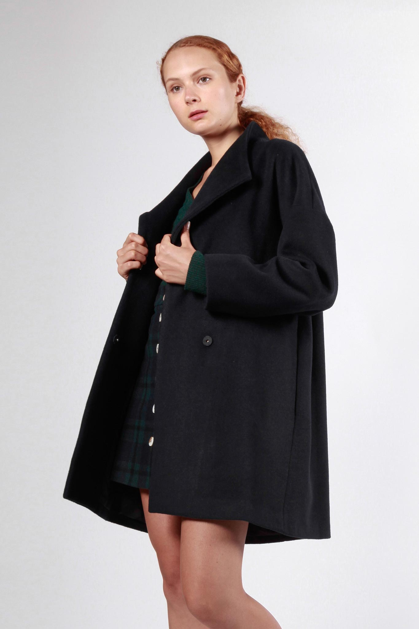 constitution coat navy