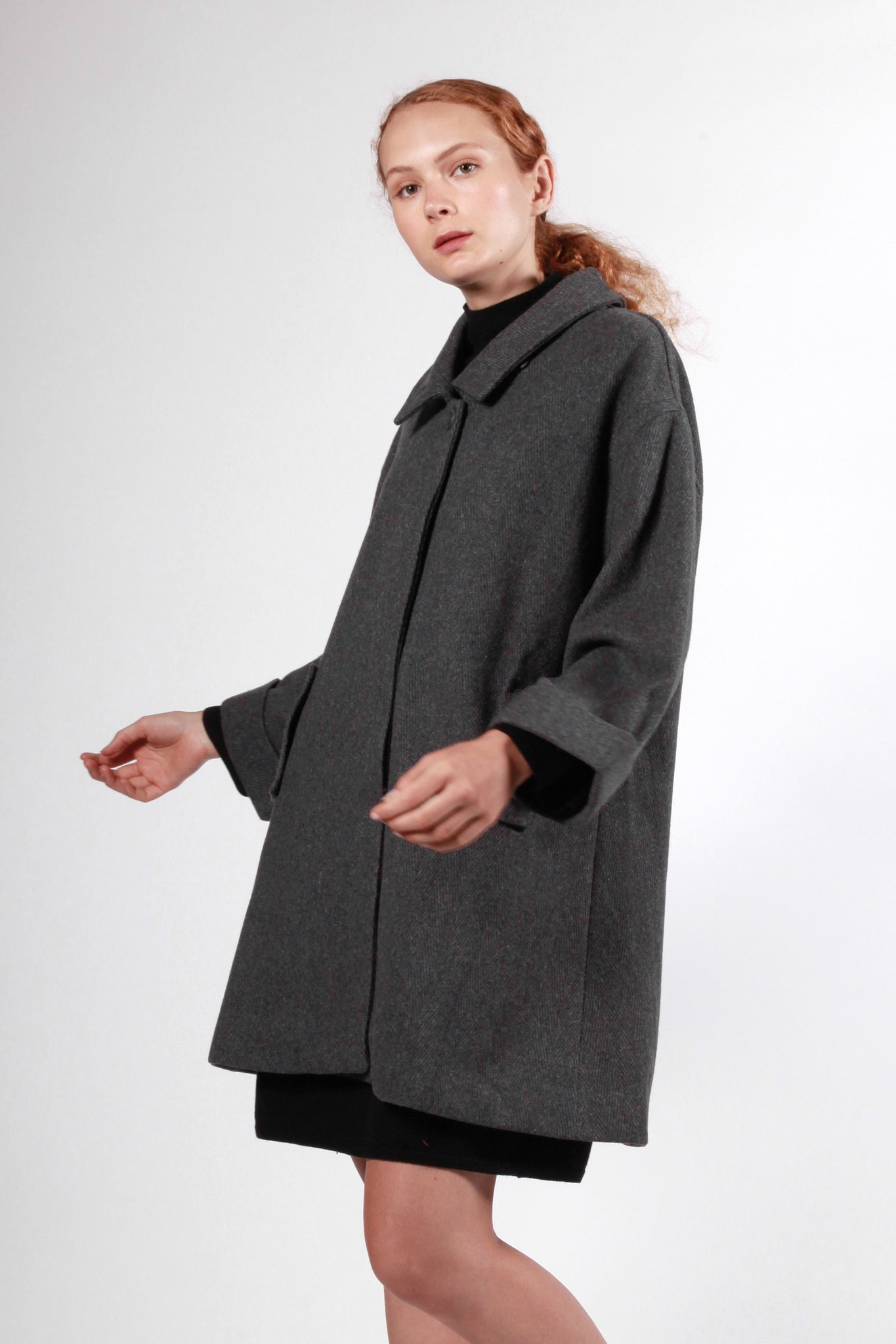 cosgrove coat charcoal