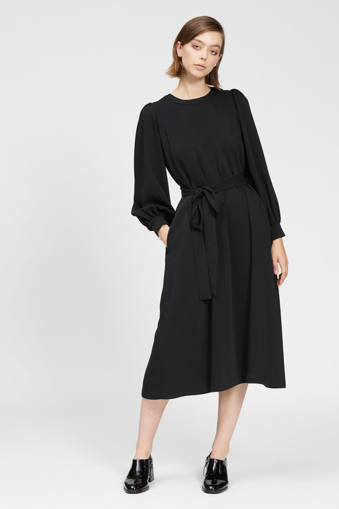 cristallo dress black