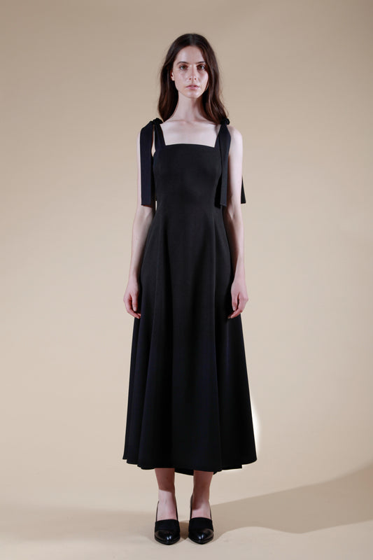 estuaire dress black