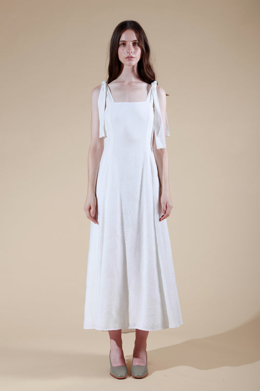 estuaire dress white