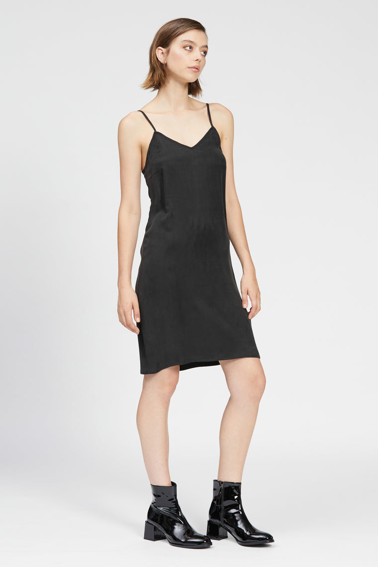 fiume dress black