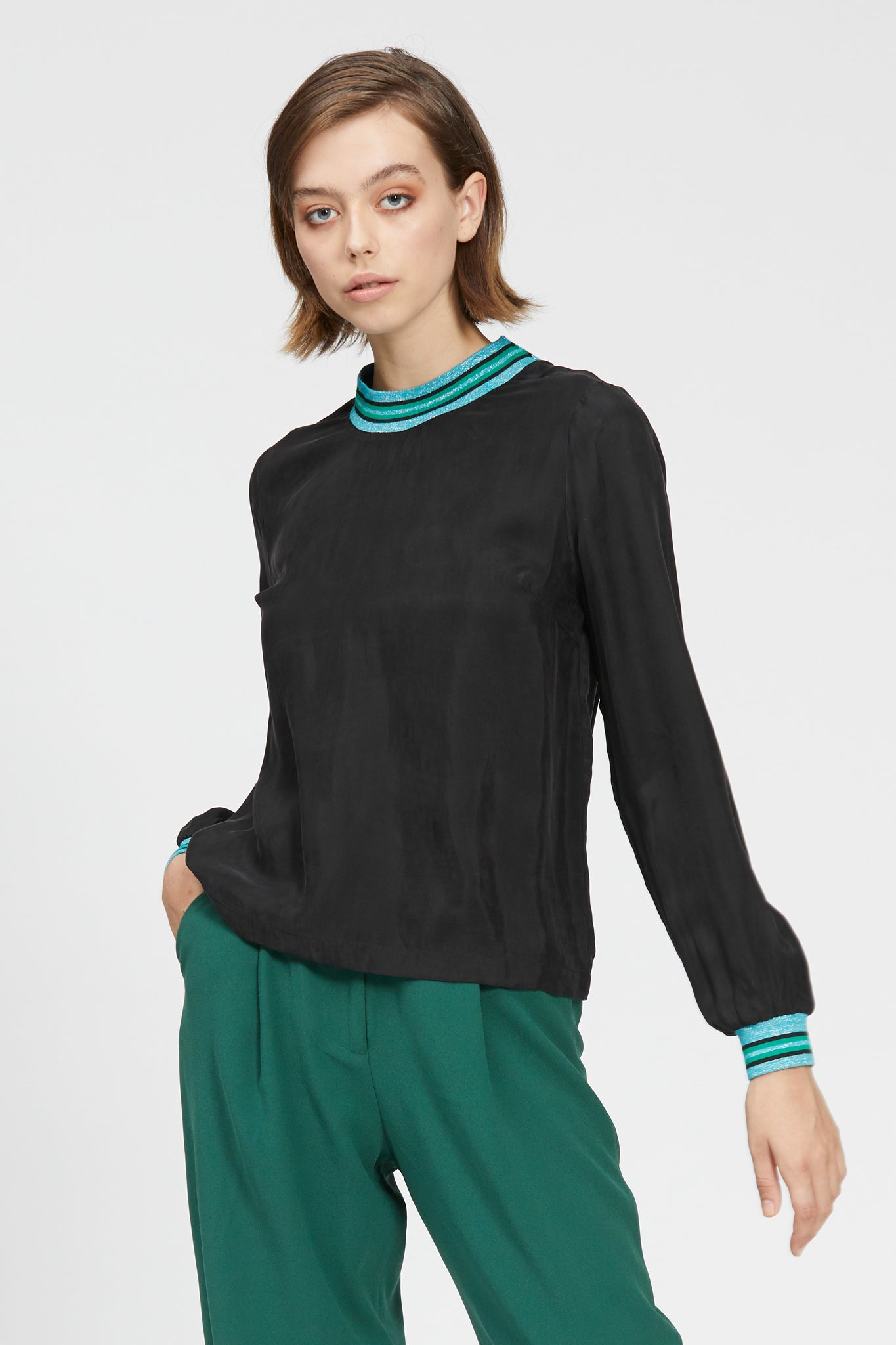 ghedina top black