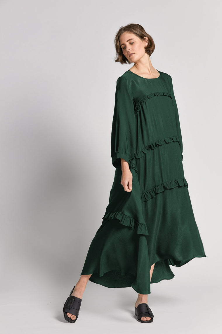 gia dress green