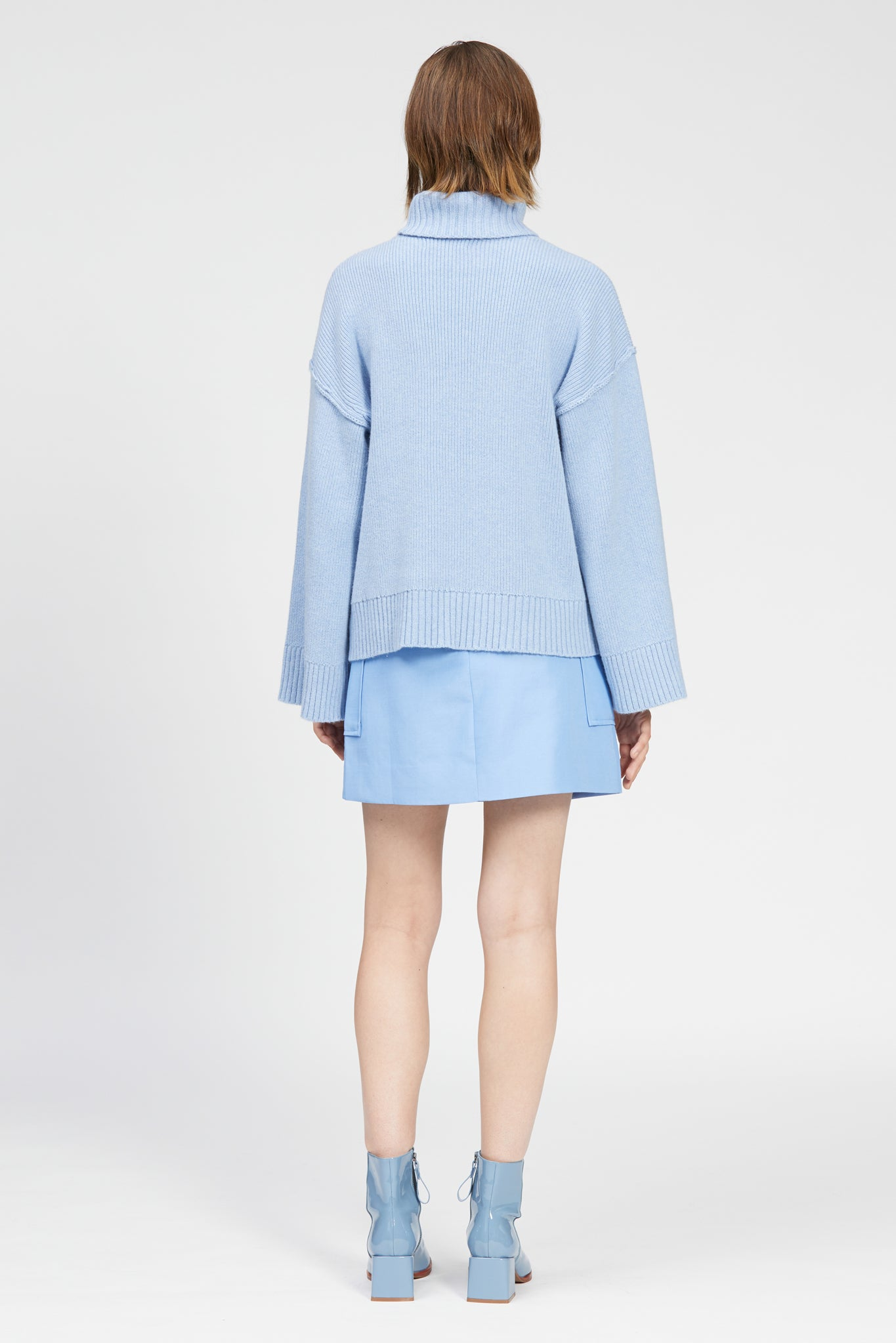giavo jumper light blue