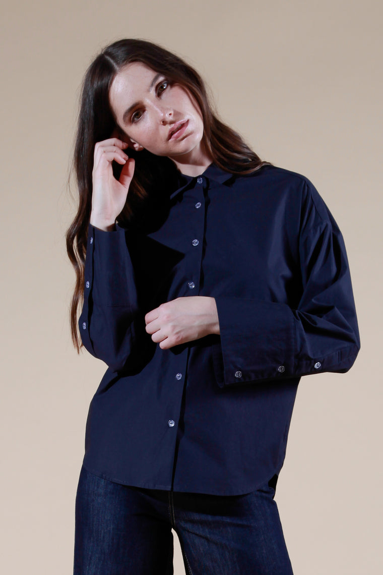 gleizes shirt navy