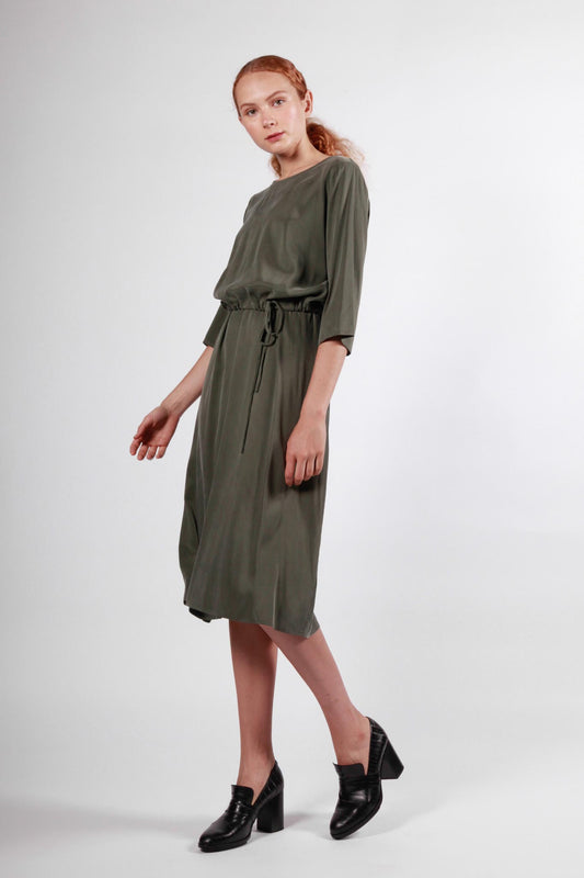 henslowe top dark green