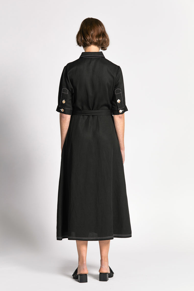 ian dress black