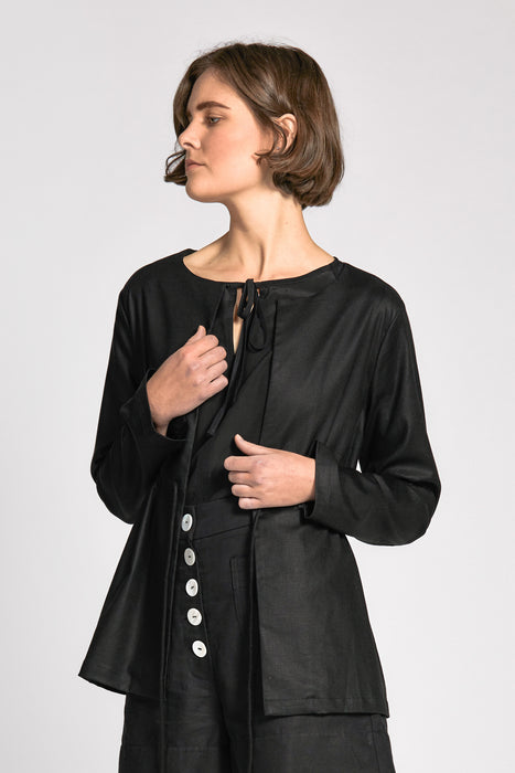 khoi jacket black