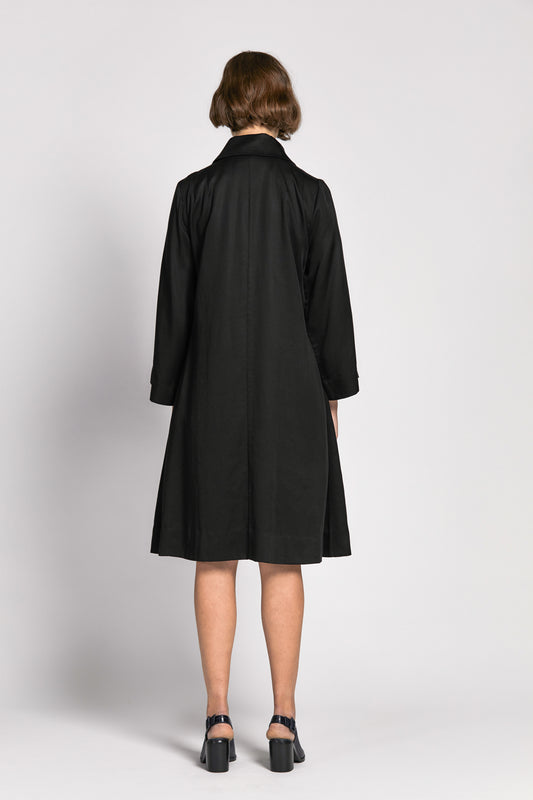 lang coat black