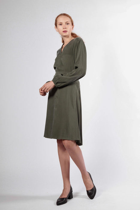 lark skirt dark green
