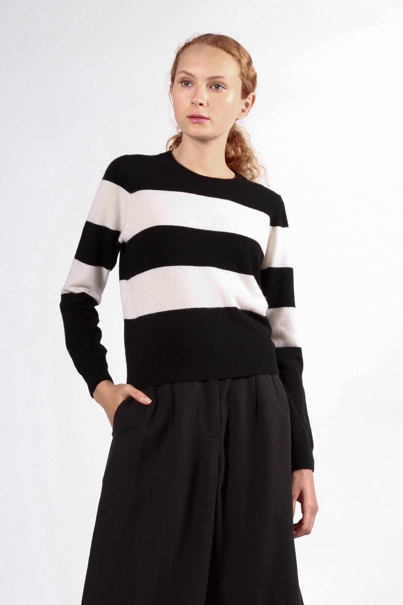 le braque jumper black/white