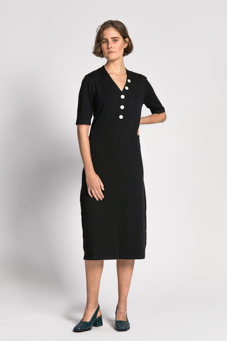 lieu dress black
