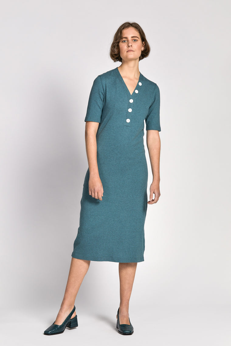 lieu dress green