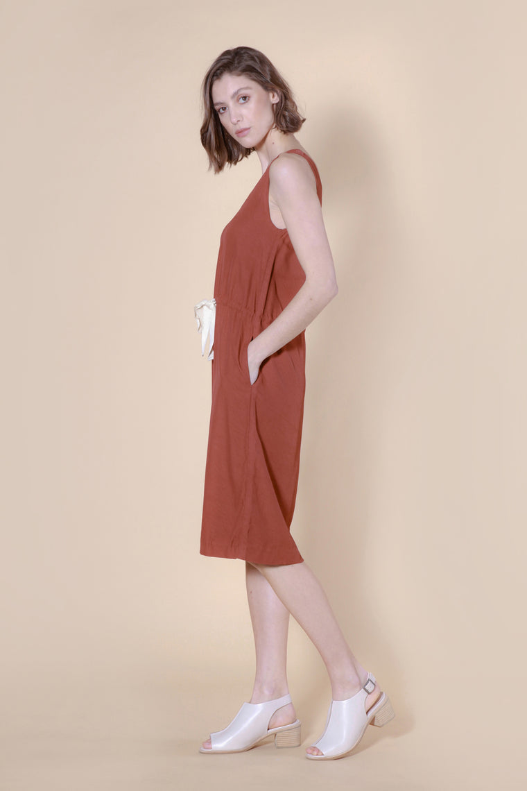 lorenzen dress mulberry