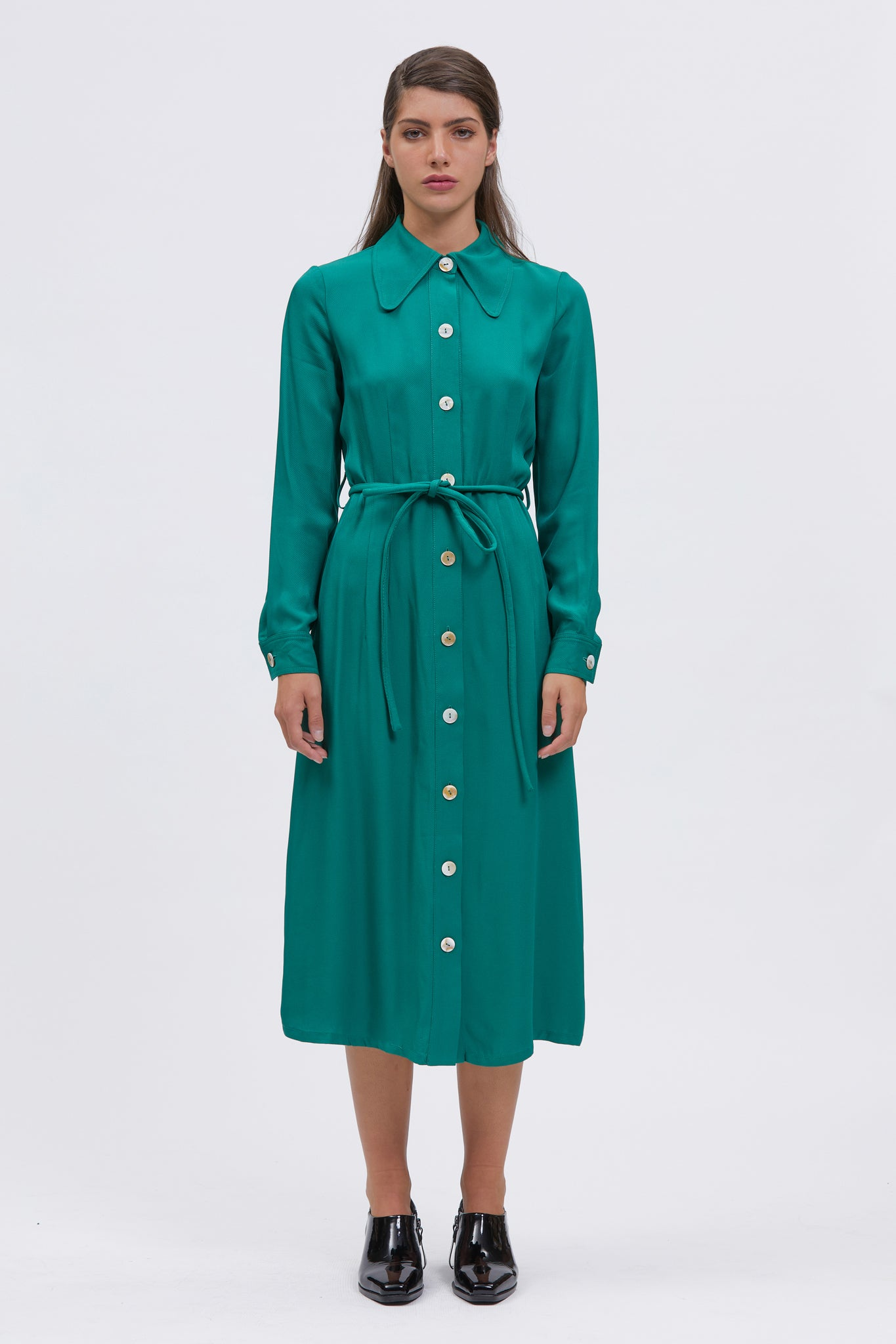 lutra dress green