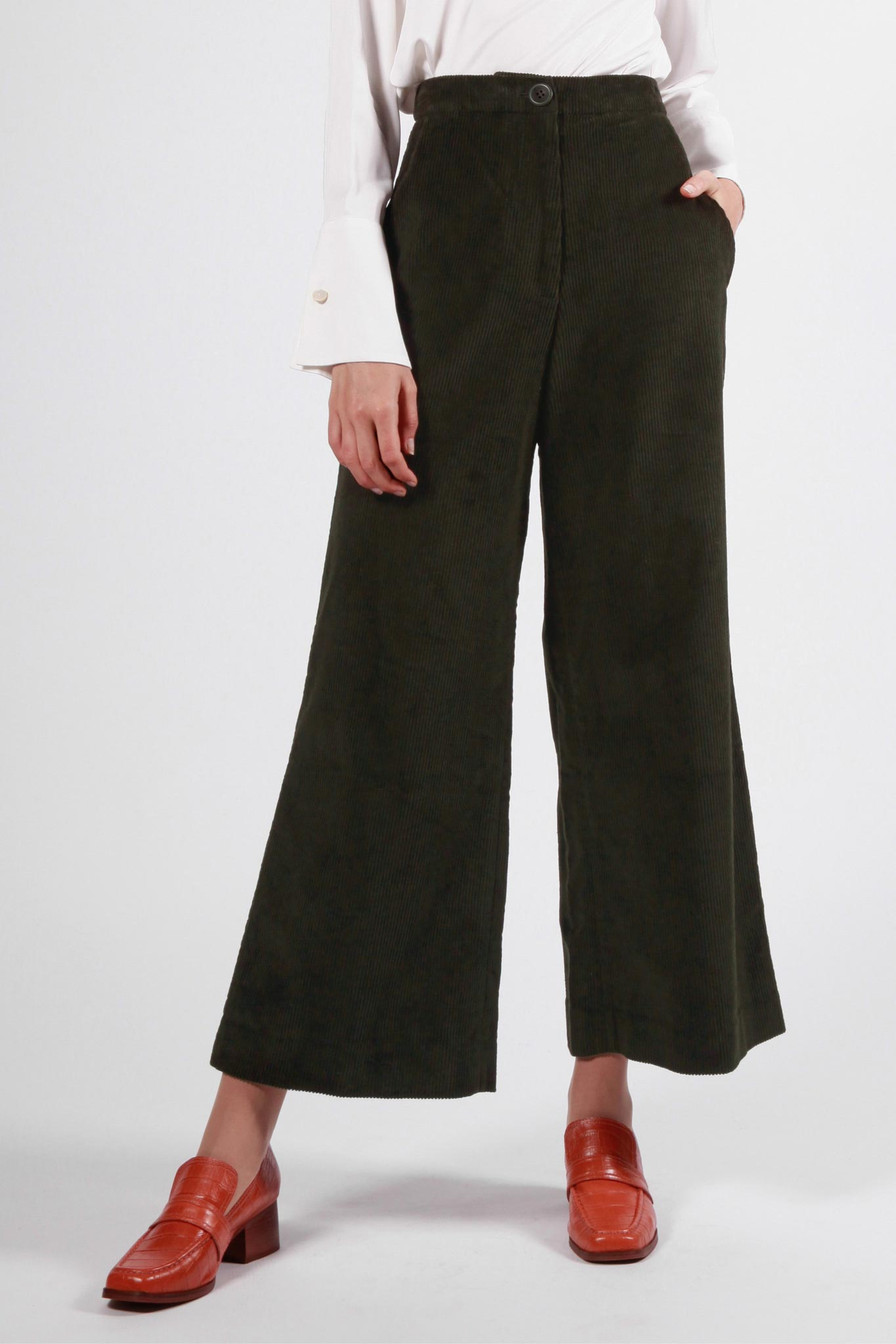 macquarie pant dark green