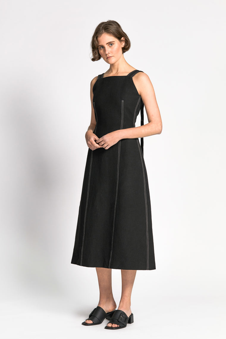 mot dress black