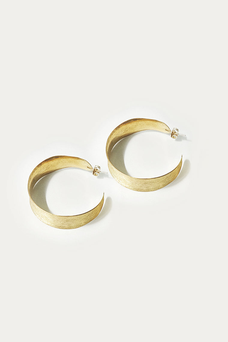 muscari earring gold
