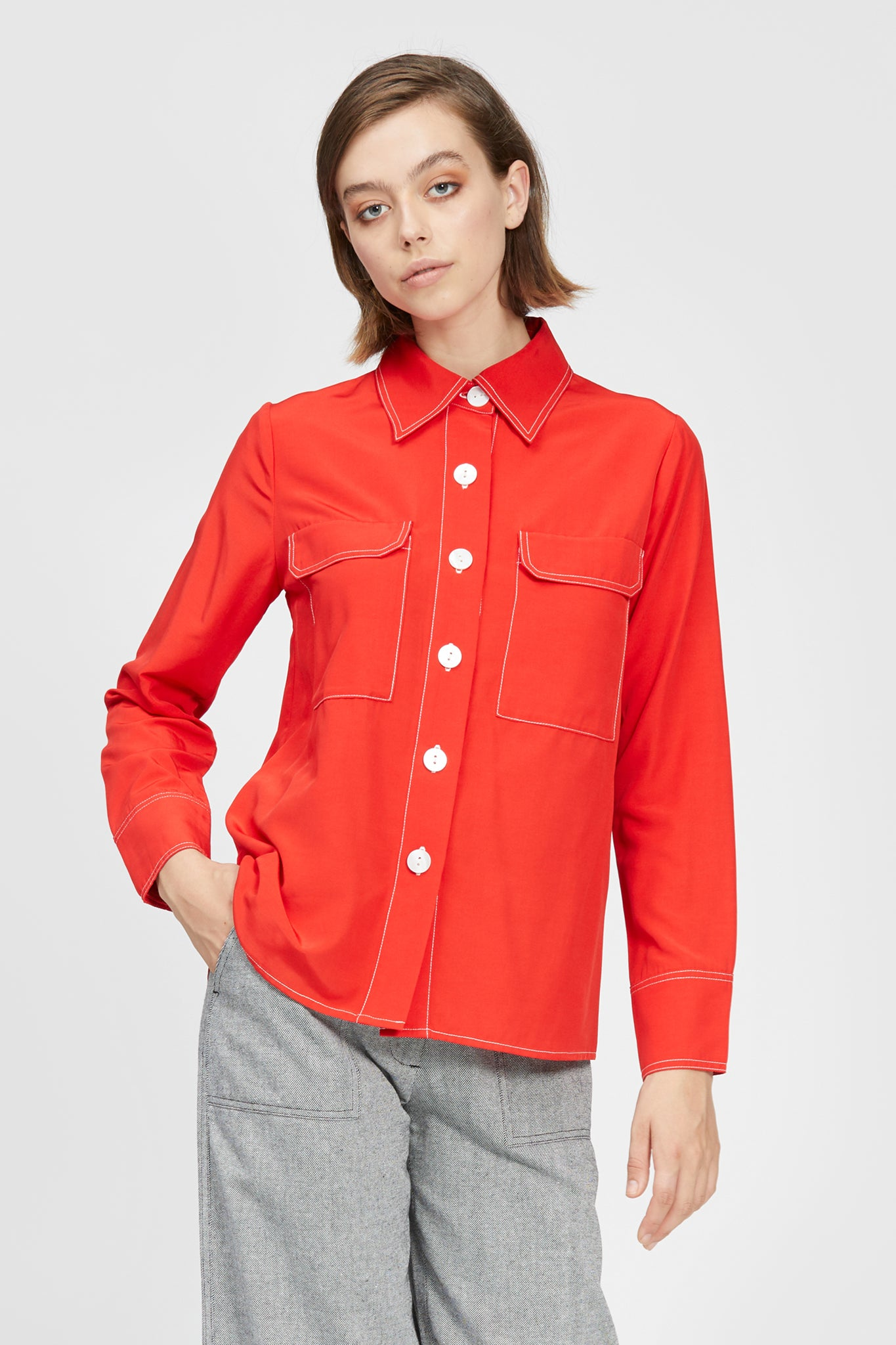 narryna shirt red