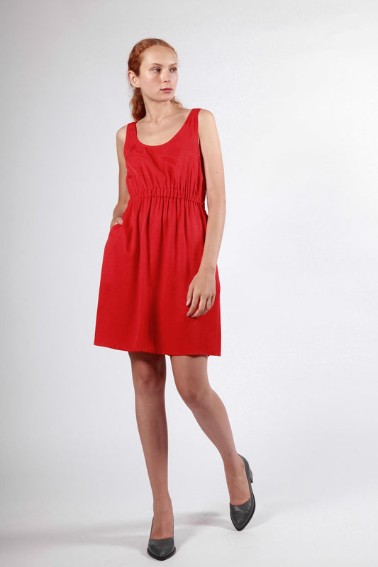 palawa dress red