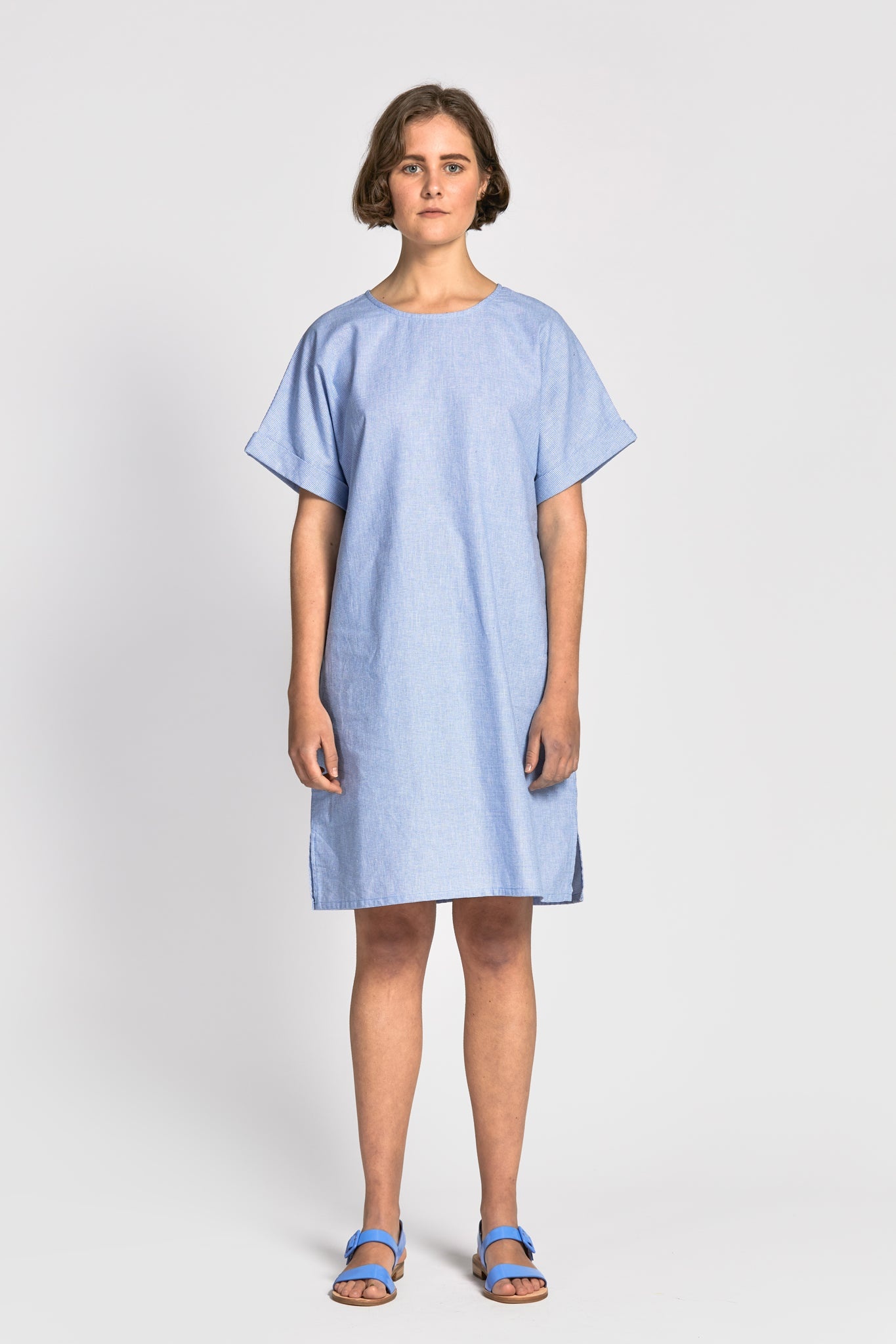 ping dress light blue