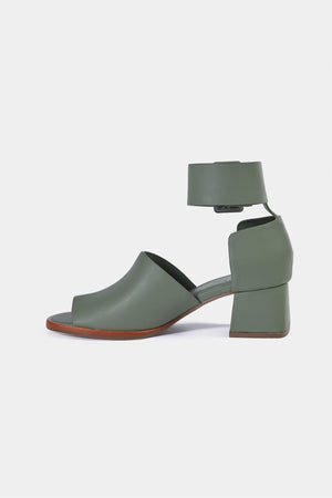 saigon midi moss green