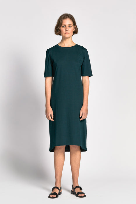 skov dress dark green