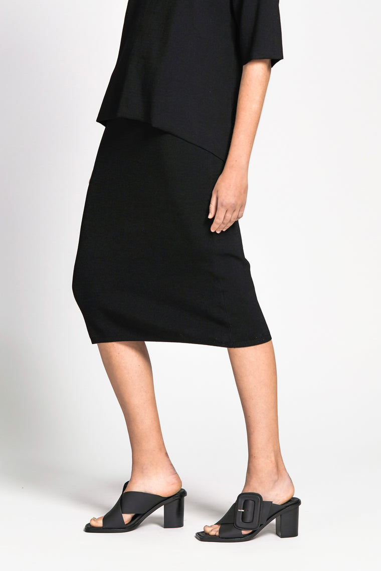 son skirt black