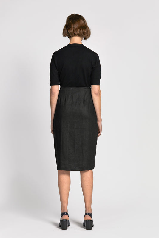tai skirt black