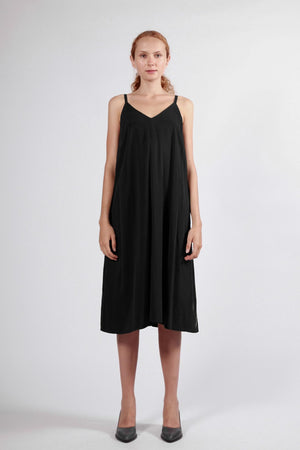 tasman dress black