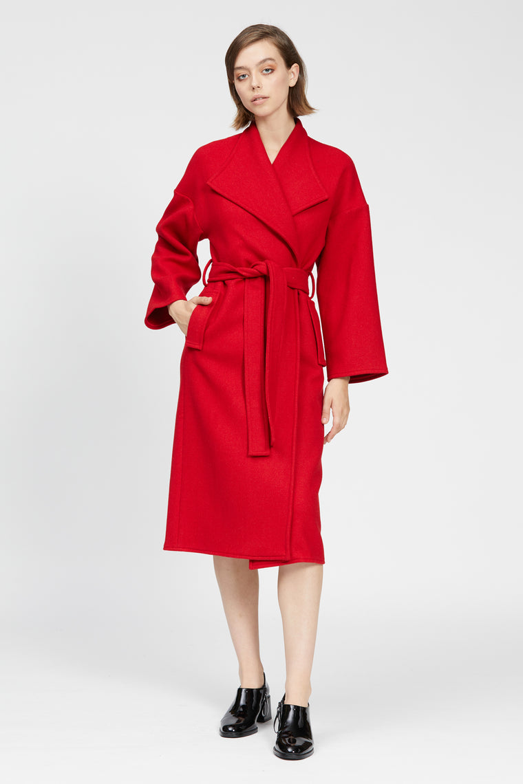 tesoro coat red