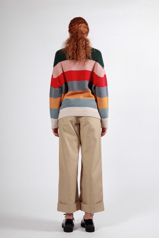 tor jumper multi stripe