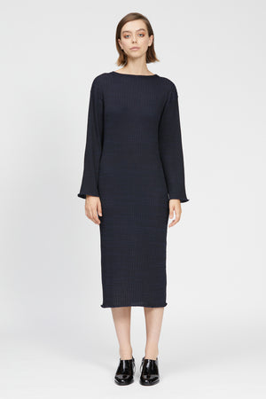 veneto dress black/navy