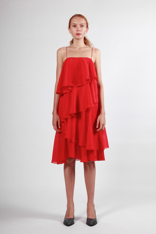 weta dress red