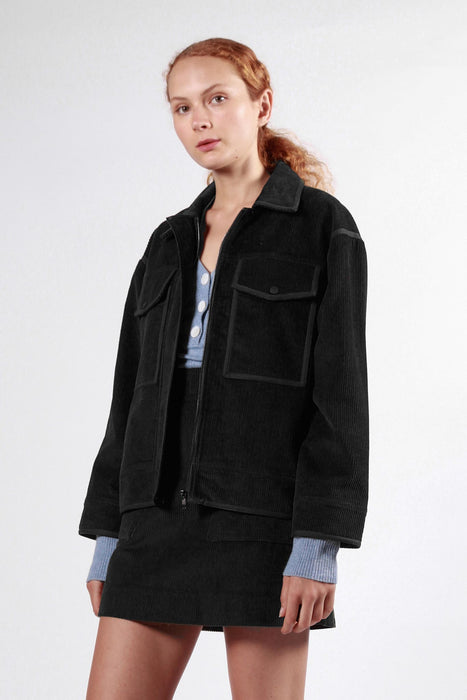 wrest jacket black