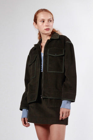wrest jacket dark green
