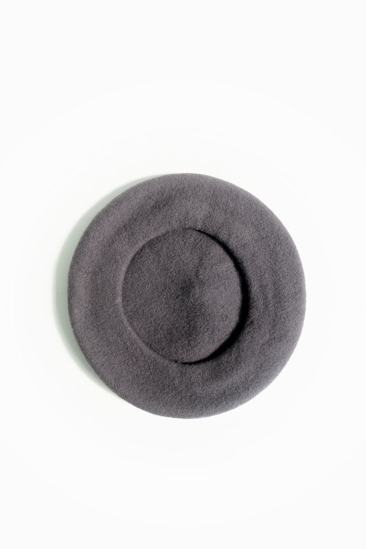 tuileries beret grey