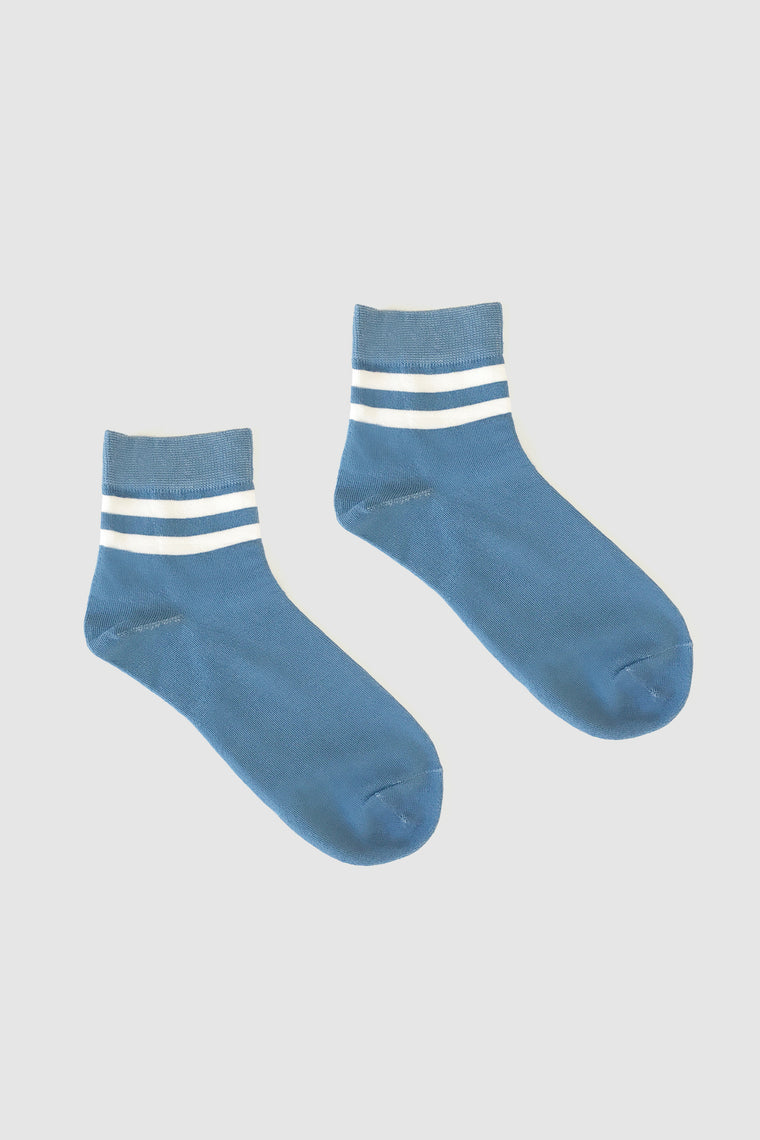 Kalt Sock Blue/White