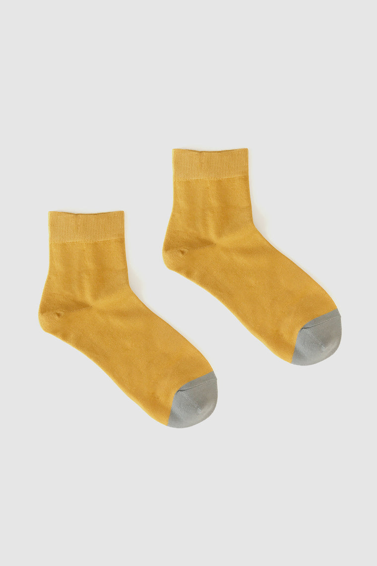 Kalt Sock Mustard/Grey