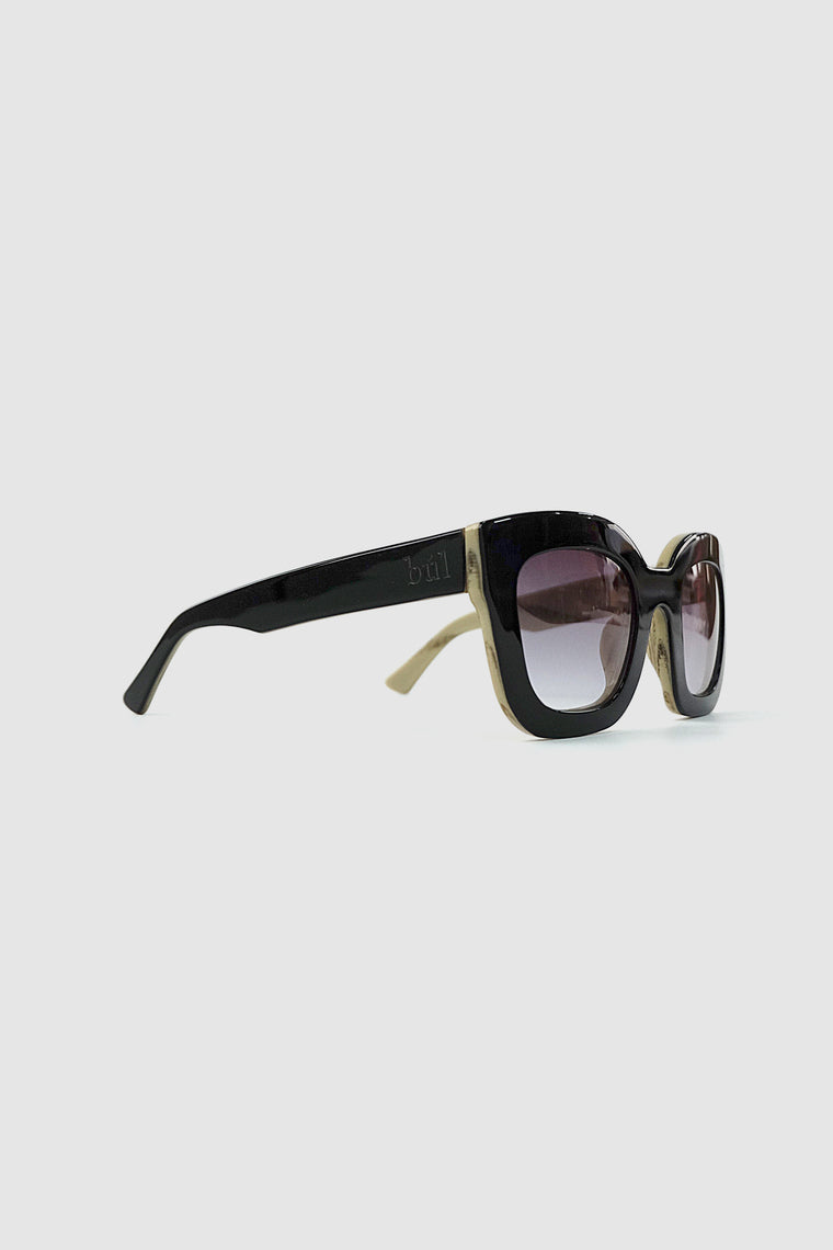 obbata sunglasses black/cream